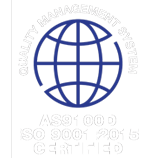 AS9100D ISO 9001:2015 Certified