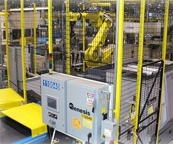 vision-guided robotic material handling system